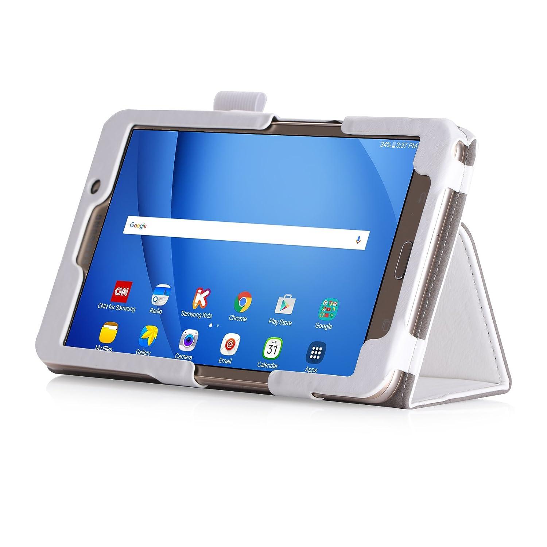 Dunkelblau iHarbort Samsung Galaxy Tab A 7.0 H/ülle weiches PU-Leder H/ülle etui Schutzh/üllen Case Cover f/ür Samsung Galaxy Tab A 7.0 Zoll SM-T280 T285 Handriemen und Kartensteckplatz