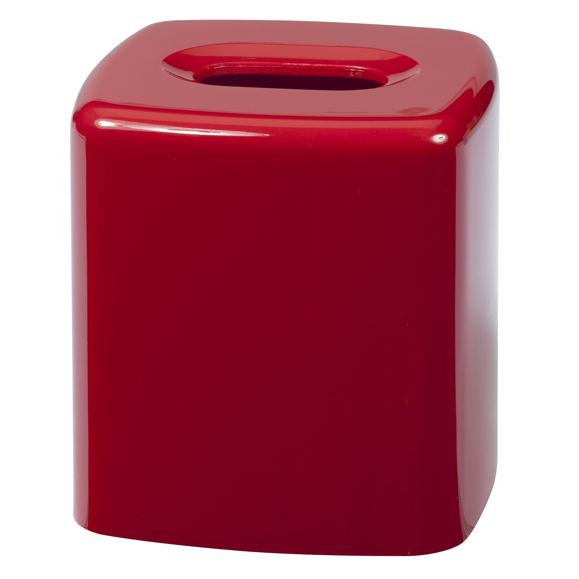 Creative Bath Products Gem Tissue Cover, Red