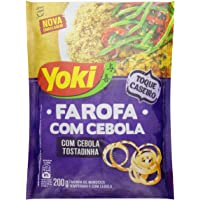 Farofa com Pedaços de Cebola Yoki 200g
