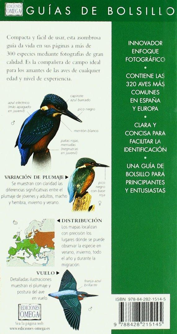 AVES. GUIA DE BOLSILLO (GUIAS DEL NATURALISTA-AVES): Amazon.es: ELPHICK, WOODWARD: Libros