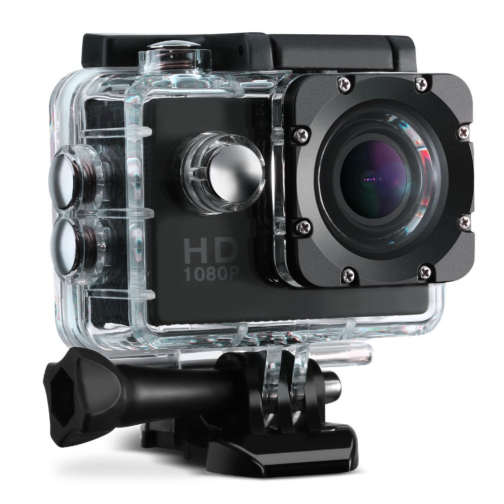 Awesome waterproof GoPro rival comes with 16 accessories for