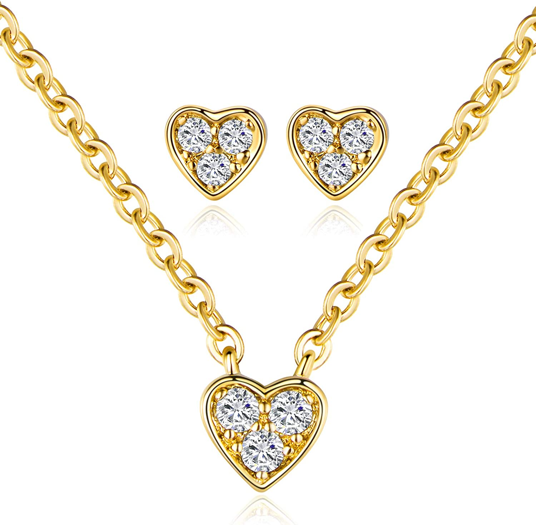 Blue bead Choker set CZ pendant choker Fancy jewelry for special events.