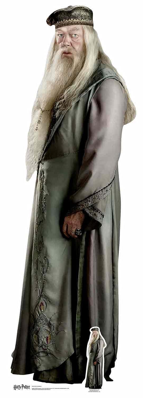 Harry Potter - - - Albus Dumbledore - Lebensgroßer Pappaufsteller Standy - Größe ca. 61x184 cm 943bb5