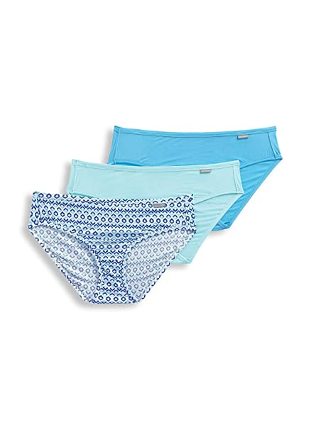 8e2b251e9e3ad4 Jockey Womens Elance Micro Modal Printed Bikini Panty: Amazon.ca ...
