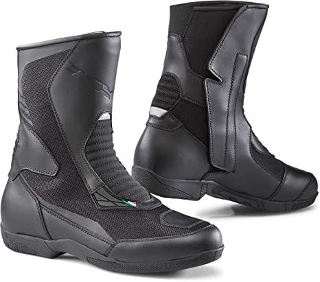 Black//Eu 45 Us 11 TCX Vibe Air Adult Street Motorcycle Boots