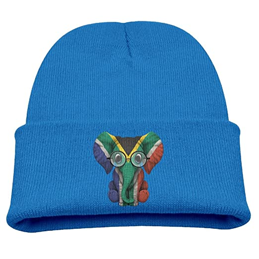 Amazon.com  WLF Kids Girls Boys South Africa Flag Elephant Baby ... 5344096e795