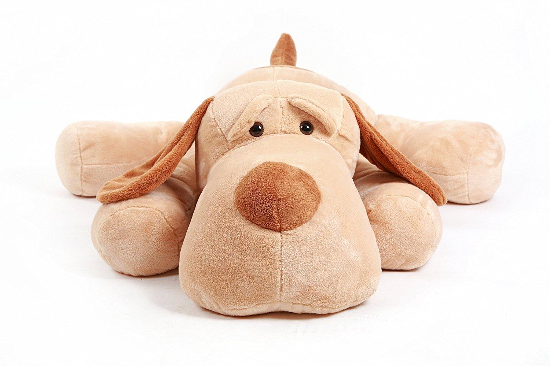 Giant XXL groß 149,9 cm Luxus Hund liegend Big Stofftier Plüsch Teddy Bär Spielzeug Puppe