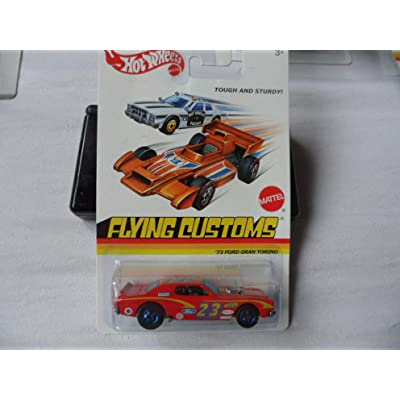 Hot Wheels Flying Customs 1973 Ford Gran Torino: Toys & Games