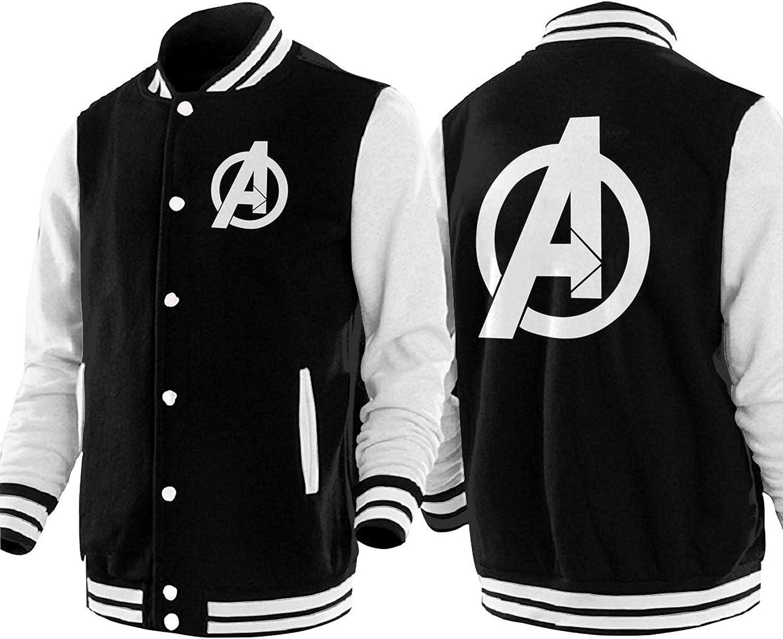 Avengers Endgame Logo Baseball Uniform Jacket Unisex Coat Sweater Sweatshirt