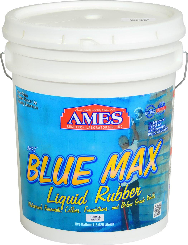 Ames BMX5TG 5 Gallon Max Trowel Grade, Translucent Blue by Ames