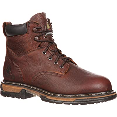 Rocky Men's Iron Clad Six Inch Work Boot: Shoes