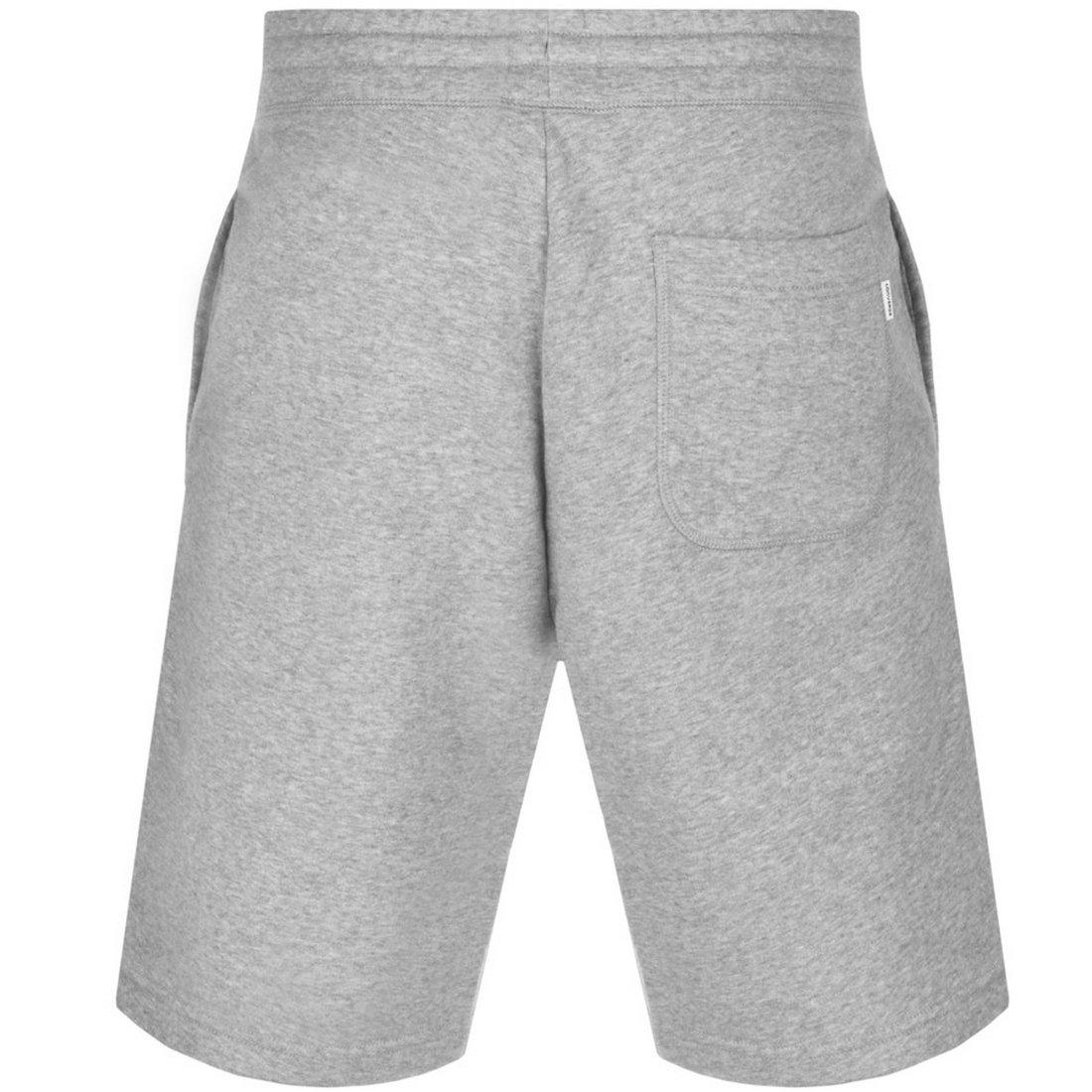 a539e2cc2519 Midland Bargains Grey Mens Converse All Star Core Jersey Shorts Grey -  Large  Amazon.co.uk  Clothing