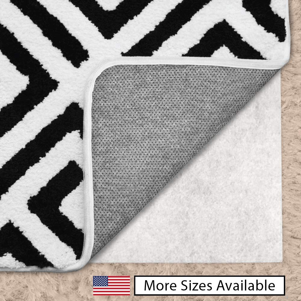 Gorilla Grip Original Area Rug Gripper Pad for Carpeted Floors, Made in USA, Size (5' x 7'), Available in Many Sizes, Pads Provide Thick Cushion Under Rugs Over Carpet