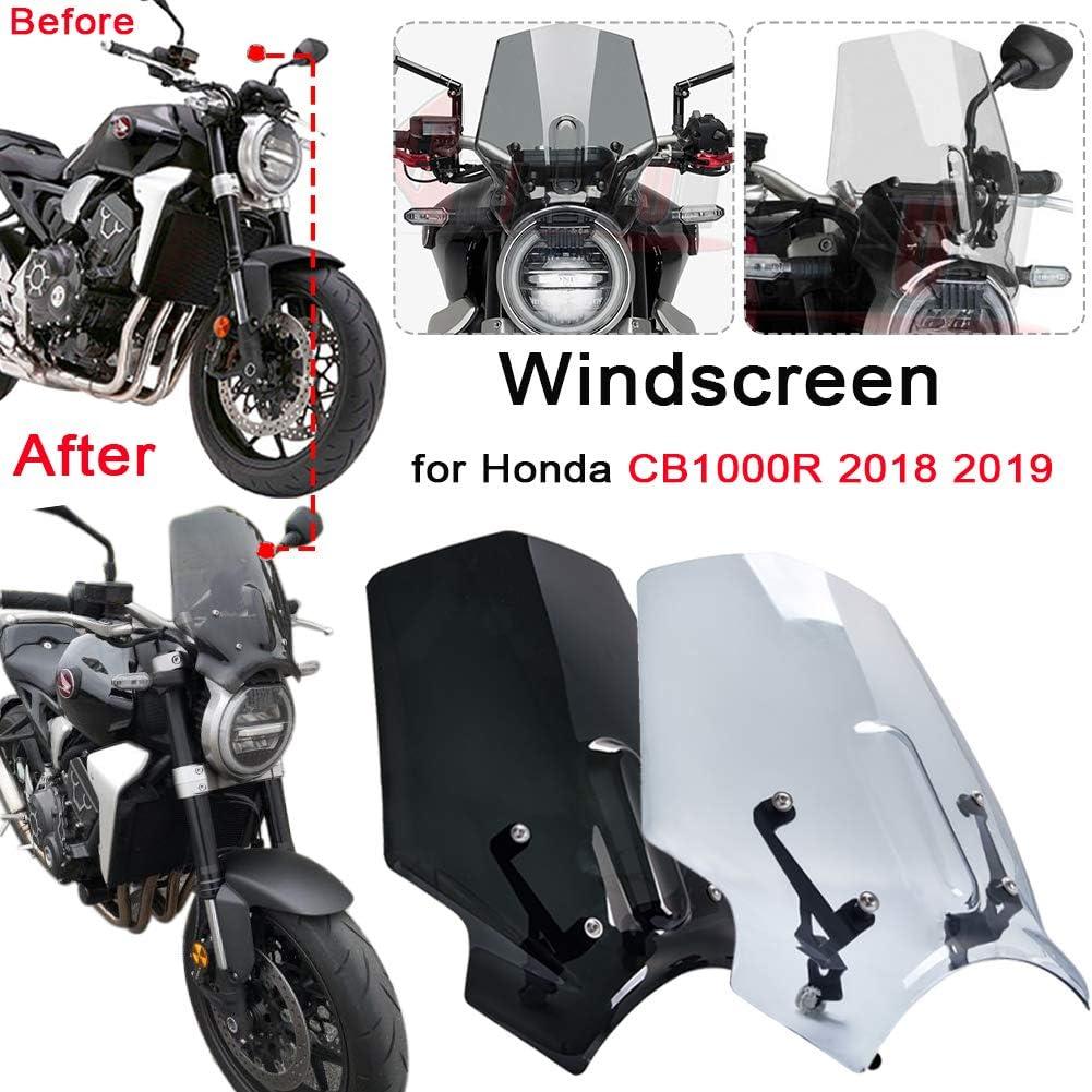 plus 2018 2019 2020 R/&G Boot Heel Scuff Guards 3 Piece Black Honda CB1000R //