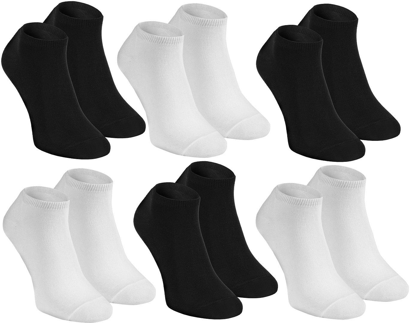 Rainbow Socks Calcetines Cortos de BAMBÚ by Delicados para los Pies para Todos los Días,