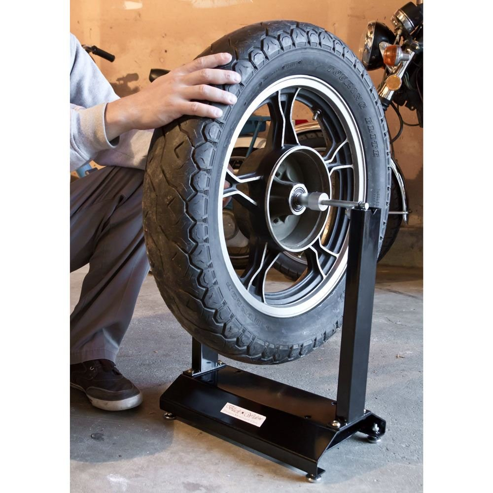 Black Widow BW-WB-03 Portable Static Motorcycle Wheel Balance Tool for 28 Tires