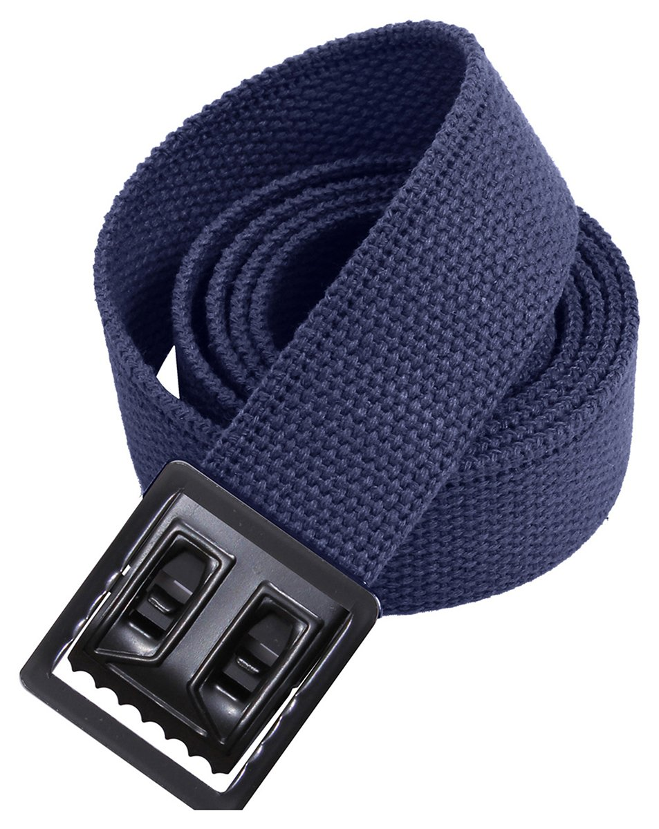 Rothco Web Belts with Open Face Buckle 4299BLK/GLD