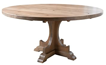 Amazoncom Caroline Round Pedestal Dining Table 54 Round