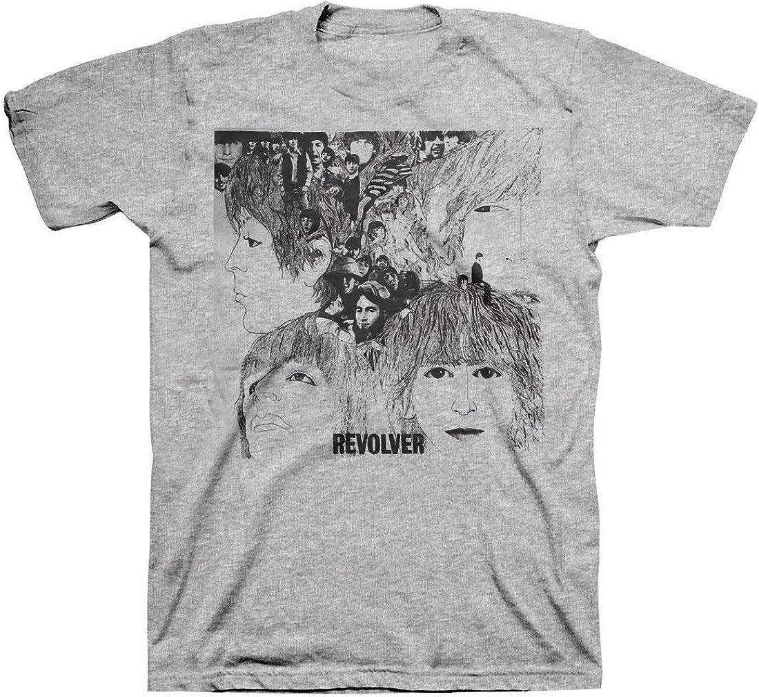 Skyey Camiseta de Manga Corta para Hombre The Beatles ...