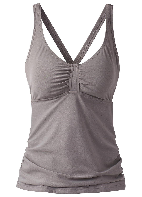 02f477f9c5 Amazon.com: prAna Aelyn D-Cup Tankini Top: Clothing