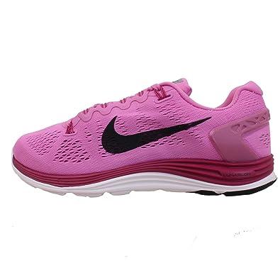 buy online 188d1 40d7a Nike Women s Lunarglide+ 5 Running Shoes (11.5 B(M) US, Red Violet