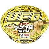 日清 焼そばU.F.O. 黄金鶏油 鶏ネギ塩焼そば 112g ×12個