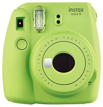 Amazon Com Fujifilm Instax Mini 9 Instant Camera Lime Green Camera P O