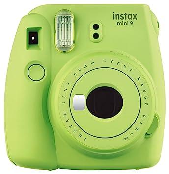 Amazon.com   Fujifilm Instax Mini 9 Instant Camera - Lime Green   Camera    Photo e7c10aca7cba
