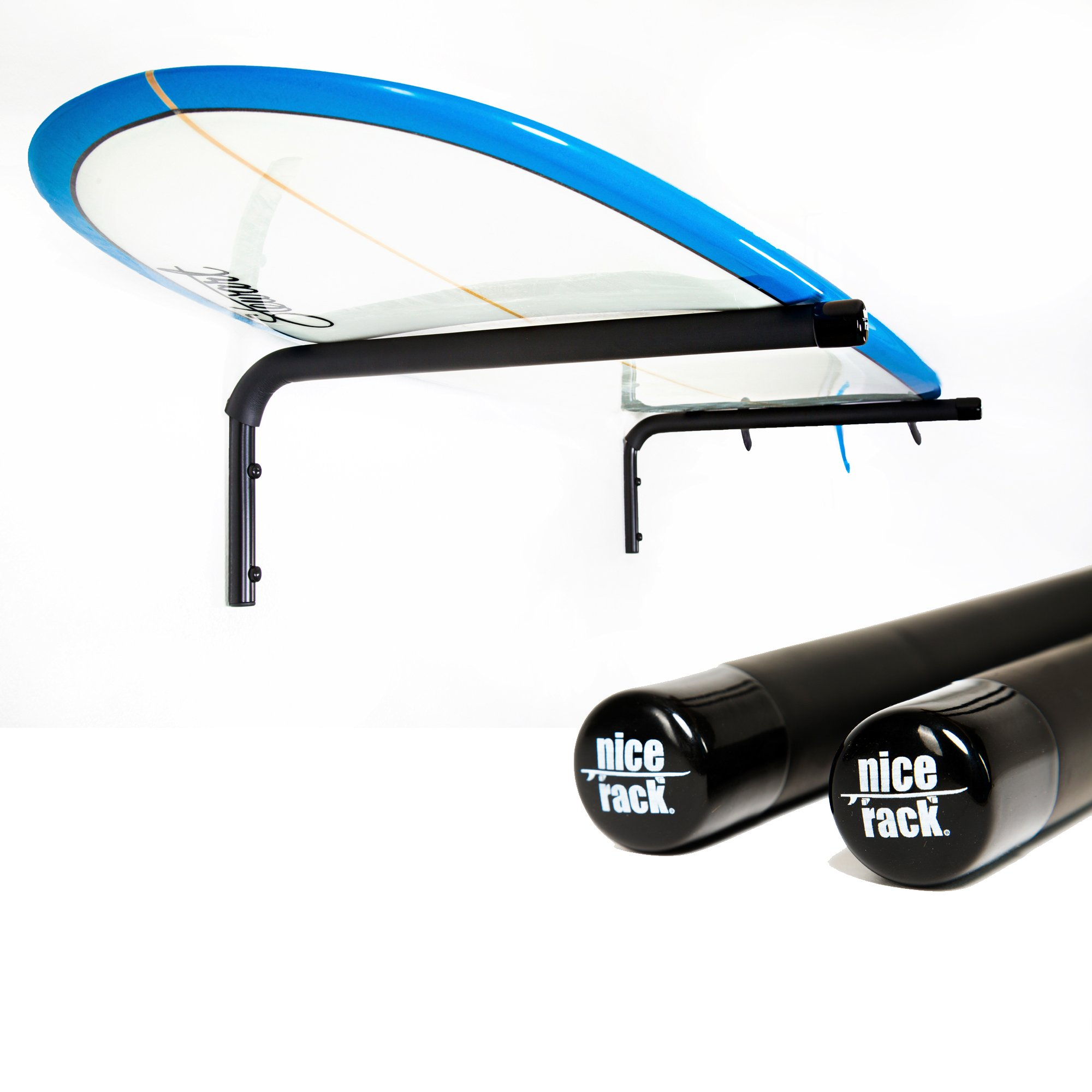 Reeflection NICE RACK - 2 Pack - Stand Up Paddle | SUP | Longboard - Horizontal Rack - High Strength (2) by Reeflection