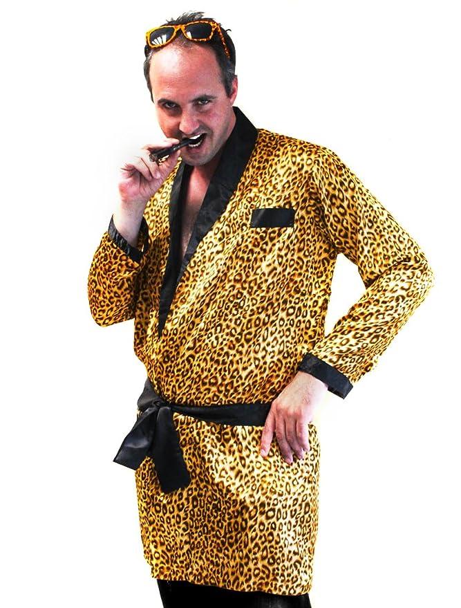 Disfraz de leopardo hombre Única: Amazon.es: Juguetes y juegos