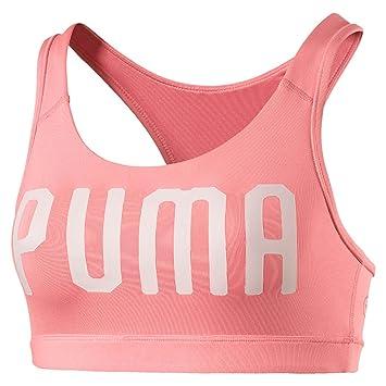 Puma Pwrshape Forever-Logo Sujetador Deportivo, Mujer: Amazon.es: Deportes y aire libre