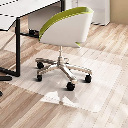 Amazon Com Vpcok Office Chair Mat Office Essential Chairmat Protector For Office Desk Chair Mats For Carpet Hardwood Floor Unique Texture Design Perfect Non Slip Effect Office Products