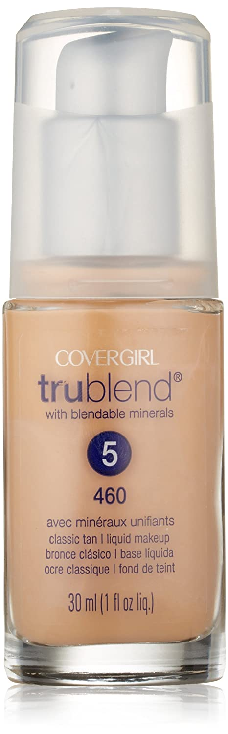 CoverGirl Trublend Liquid Make Up Classic Tan 460, 1.0-Ounce Bottle