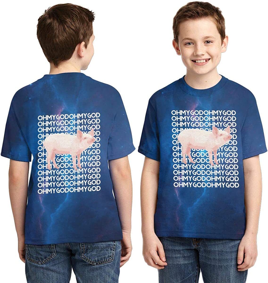 Boini Jaguar Car Logo Basic Daily Wear Cute Graphic Raglan T Shirts for Boys and Girls