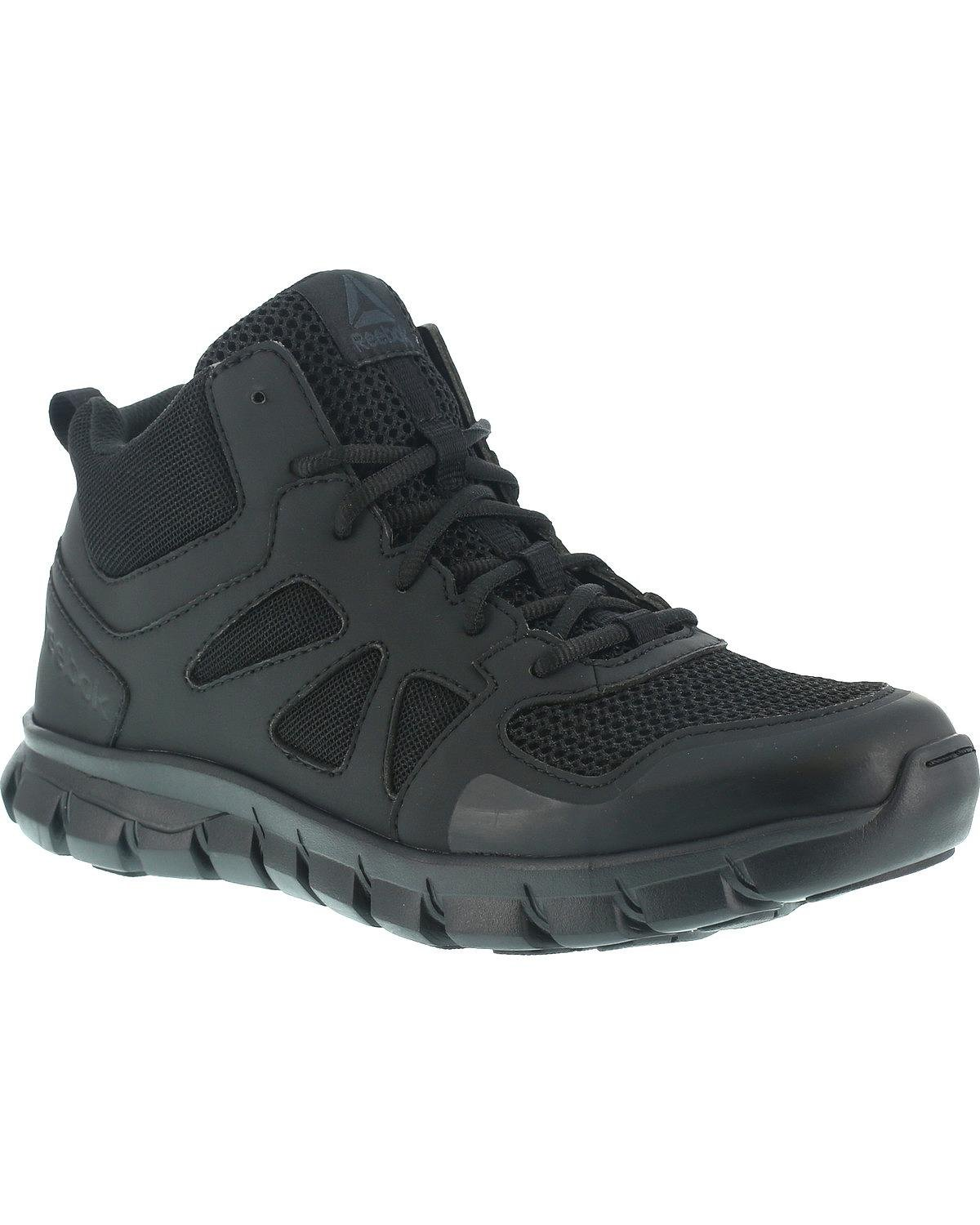 Reebok Women's Sublite Cushion RB805 Military and Tactical Boot, Black, 7.5 W US