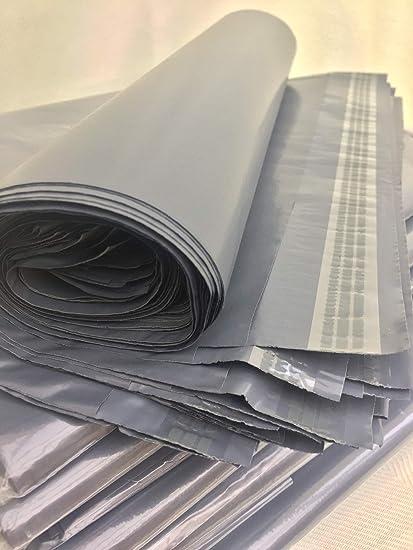 Plástico Resistente Embalaje Correo Polietileno Mailing Bolsa 10-Sizes GRIS