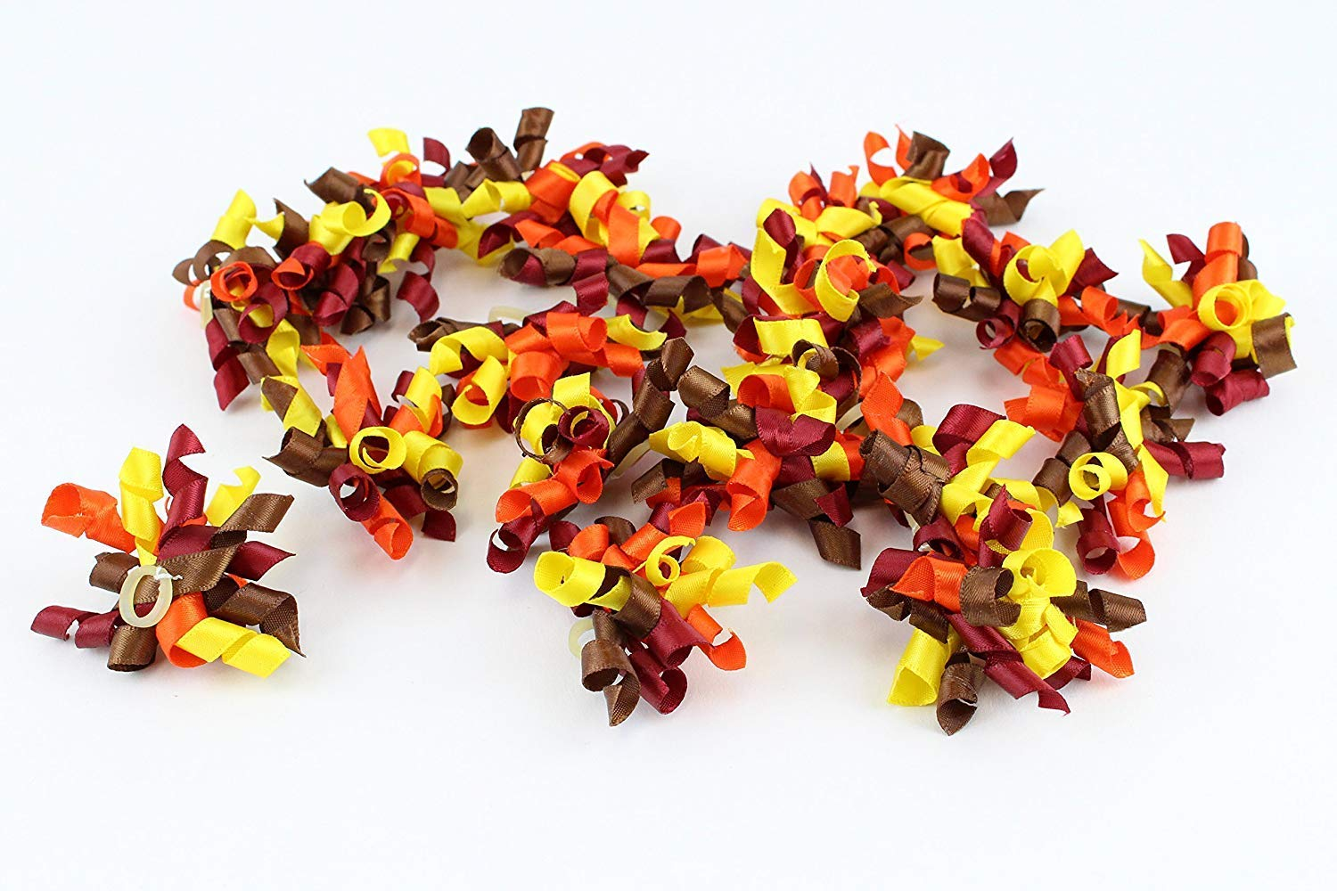 Midlee Thanksgiving Dog Hair Bows Set of 20 by Midlee