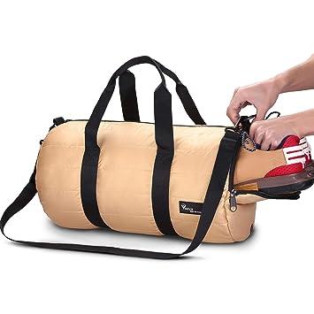 cc6fe2bc7c Voova 20L Sac de sport pliable avec poche pour chaussures Pour voyage  Extérieur Sac fourre-