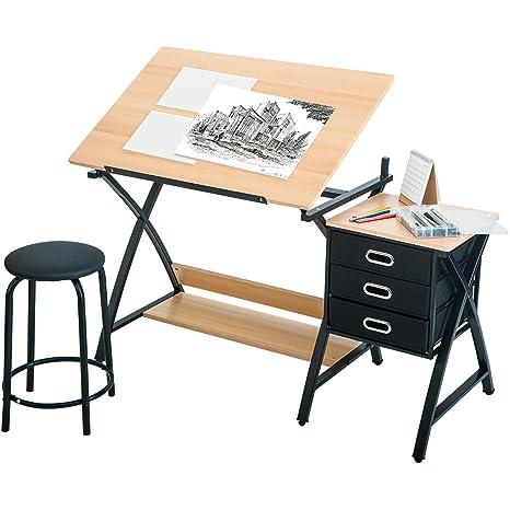 Harper & Bright diseño plegable en la parte superior mesa de ...