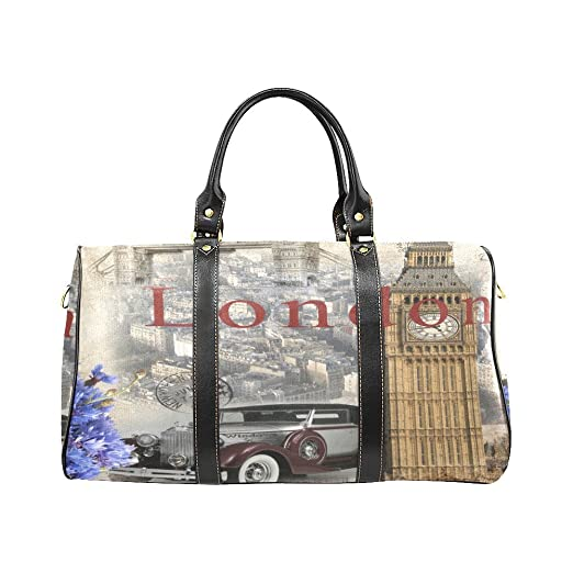 Image Unavailable. Image not available for. Color  London Big Ben Large  Travel Duffel Bag ... 2562770ab05