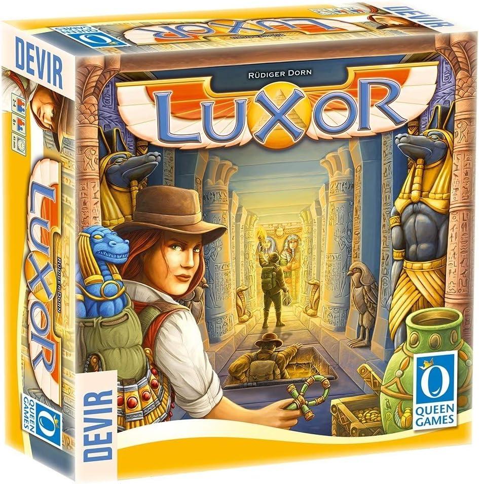 Devir - Luxor, juego de mesa - Multilenguaje: Amazon.es: Juguetes y juegos