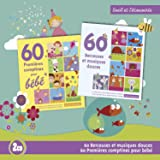 60 Premières Comptines Pour Bébé / 60 Berceuses Et Musiques Douces (Coffret 2 CD)