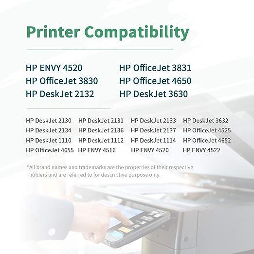 ZIPRINT Compatible HP 302XL HP 302 XL Cartucho 2 Multipack ...
