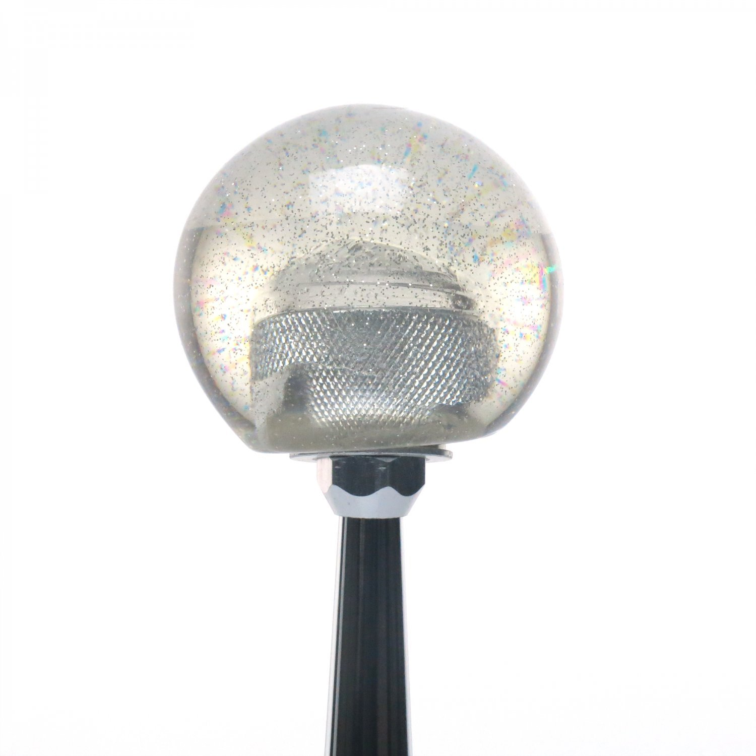 Liberia Clear Metal Flake with M16 x 1.5 Insert American Shifter 305836 Shift Knob