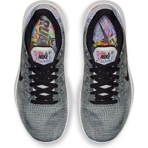 online retailer 72d5c 95766 Amazon.com   Nike Women s Flex RN 2018 Premium Running Shoes, Pure  Platinum Black White (US 7.5)   Road Running