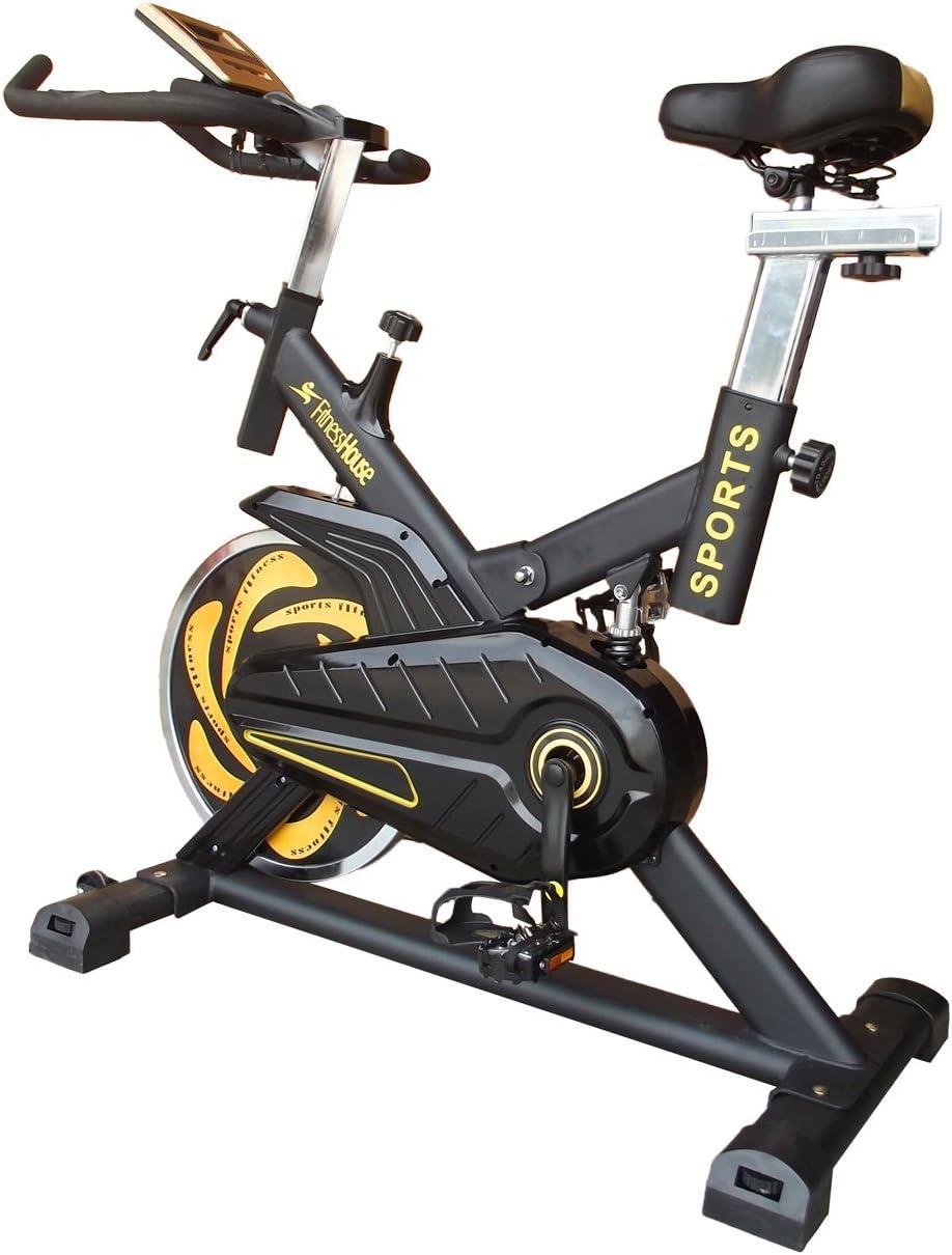 Fitness House Bestia Sports Pro - Bicicleta de Ciclo Indoor ...