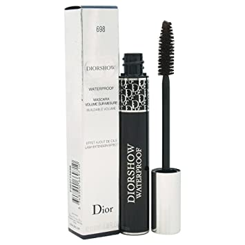 Christian Dior Diorshow Waterproof Women Mascara, Brown, 0.38 Ounce