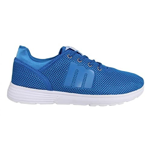 699d27b4f4 Zapatillas Deporte de Mujer MTNG 69562 Panal Azul  Amazon.es  Zapatos y  complementos
