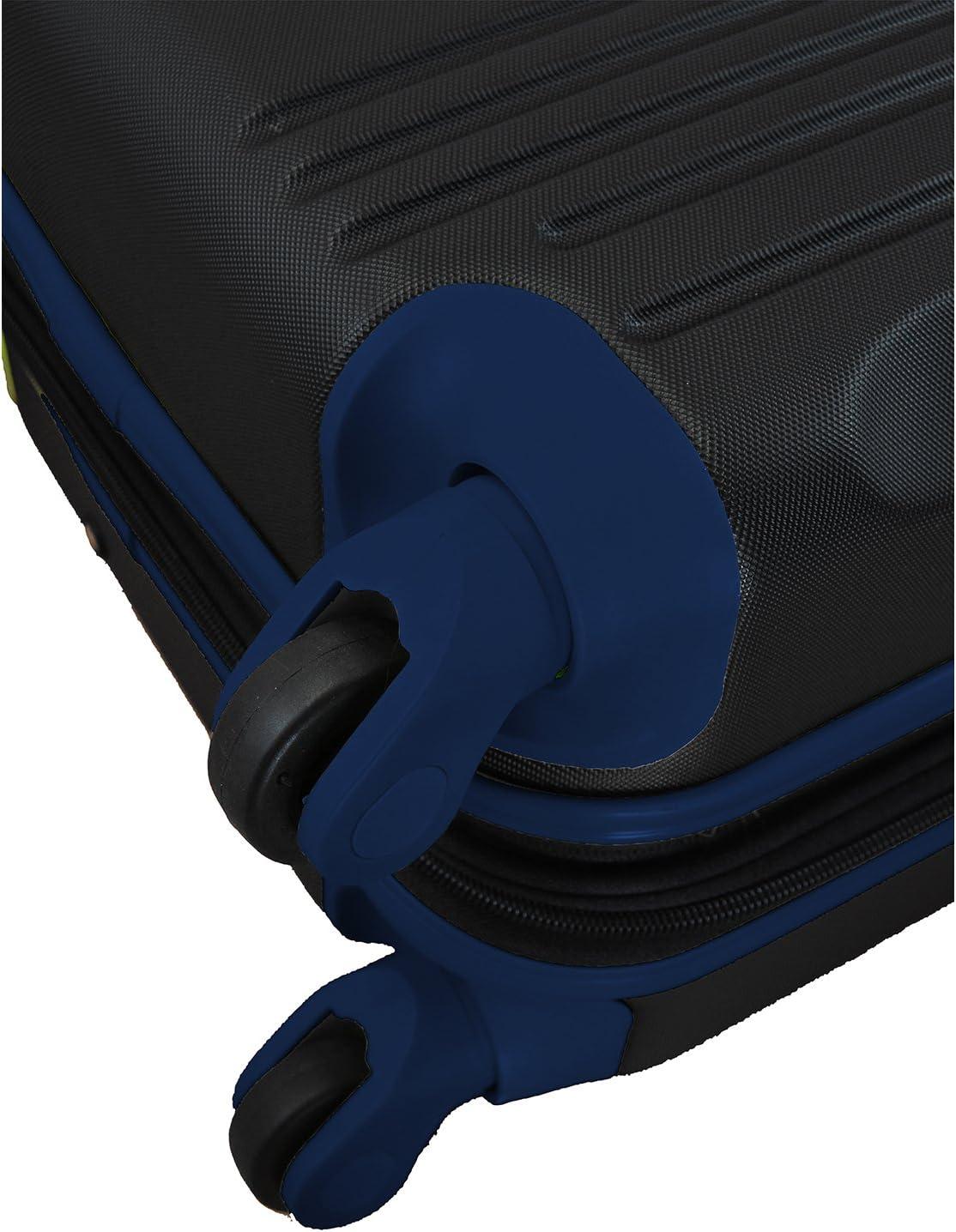 Denco NHL 2-Piece Luggage Set