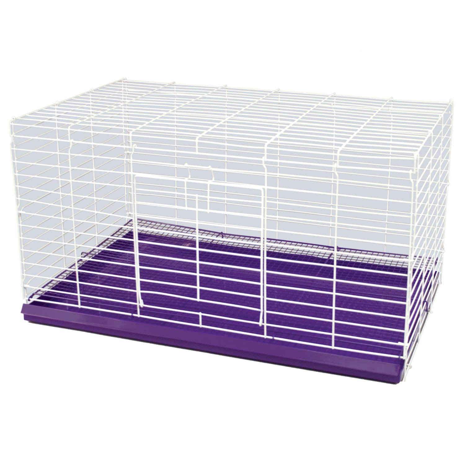 Medium 30L x 18W x 16H inches Ware Manufacturing 30-Inch Chew Proof Rabbit Cage